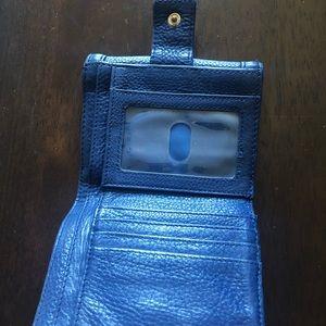 Tory Burch Bags - Tory Burch Navy Wallet